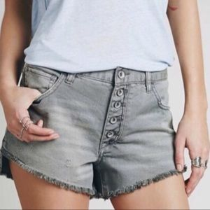 Free People Runaway Slouch Shorts, Size 25